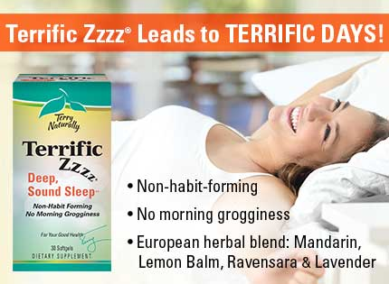 Terrific Zzzz® Leads to Terrific Days!
