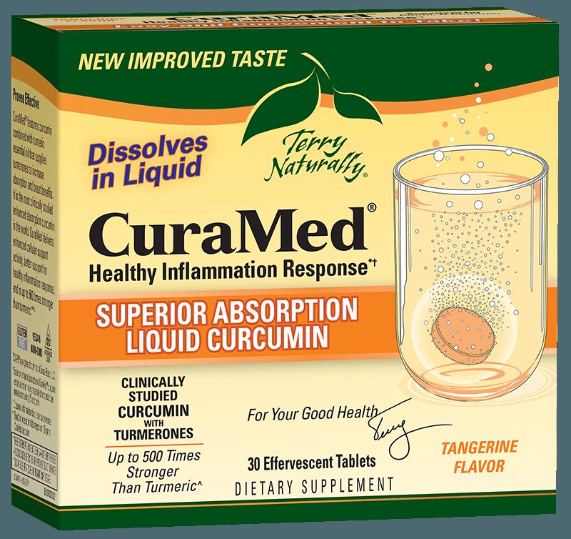 CuraMed® Effervescent Tablets (300 mg)
