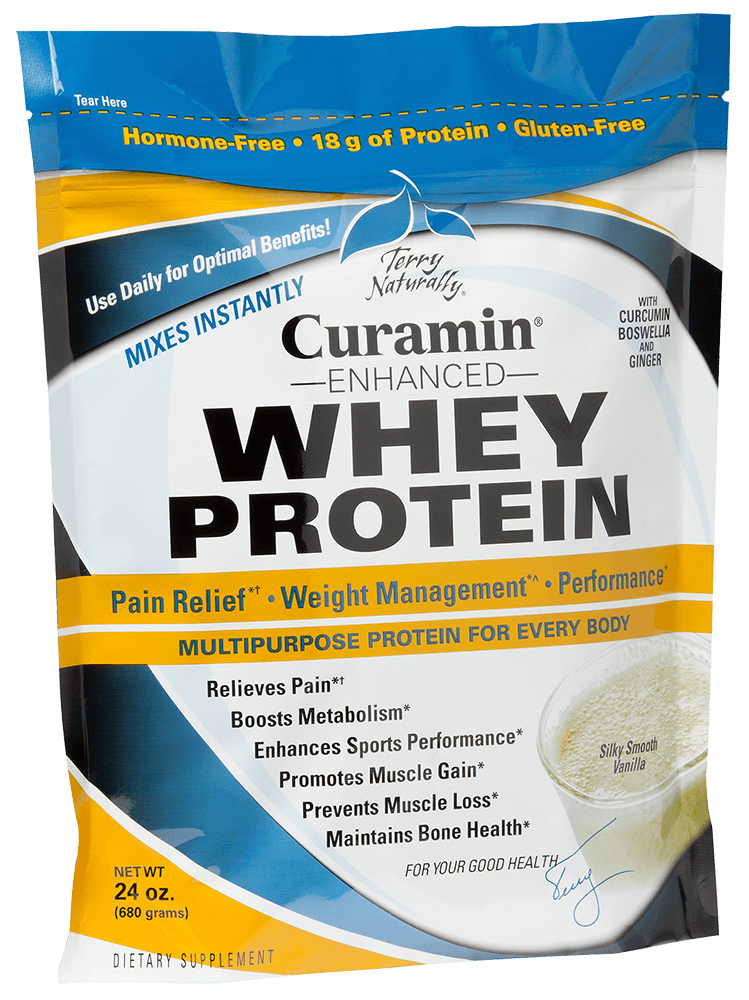 Curamin® Enhanced Whey Protein