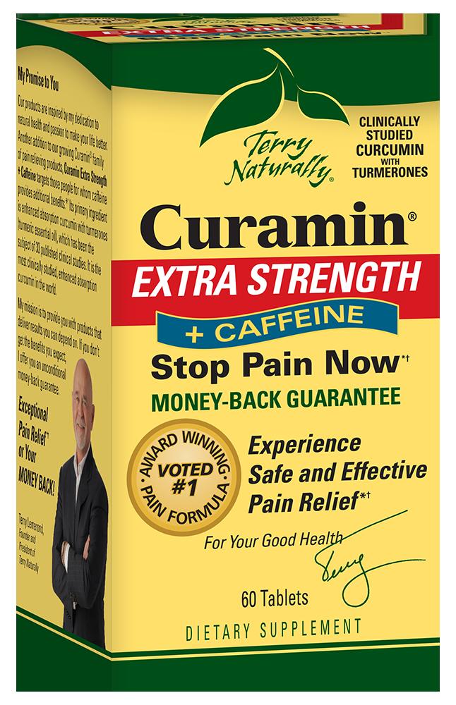 Curamin® Extra Strength + Caffeine