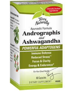 Andrographis and Ashwagandha box