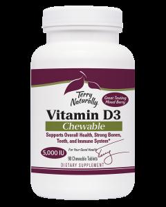 Vitamin D3 5,000 IU Bottle