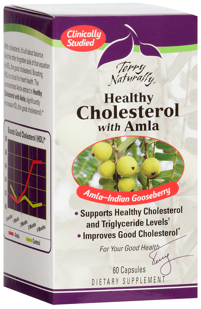 Healthy Cholesterol† with Amla