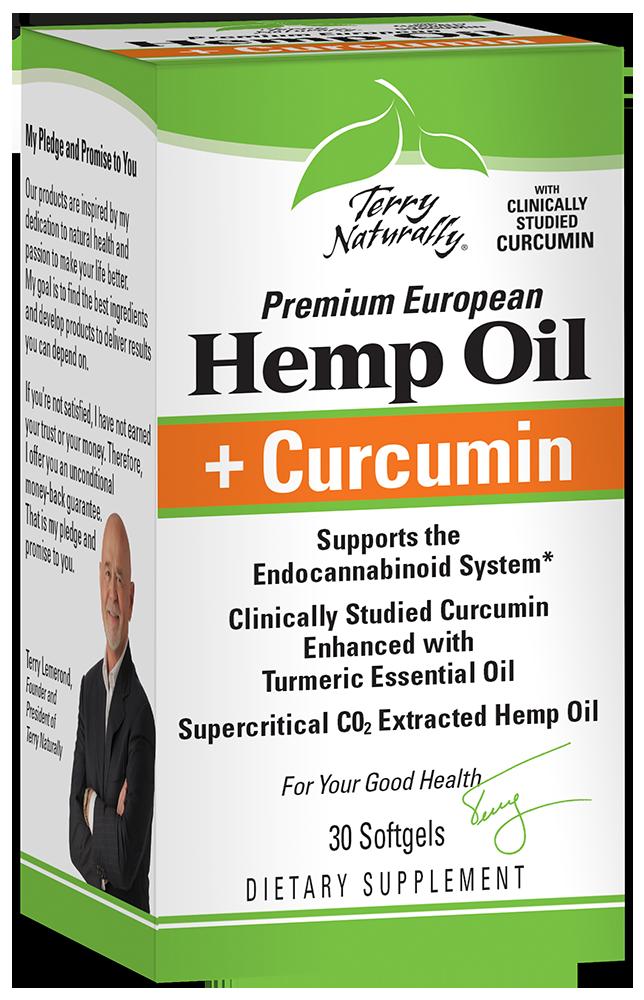 Hemp Oil + Curcumin