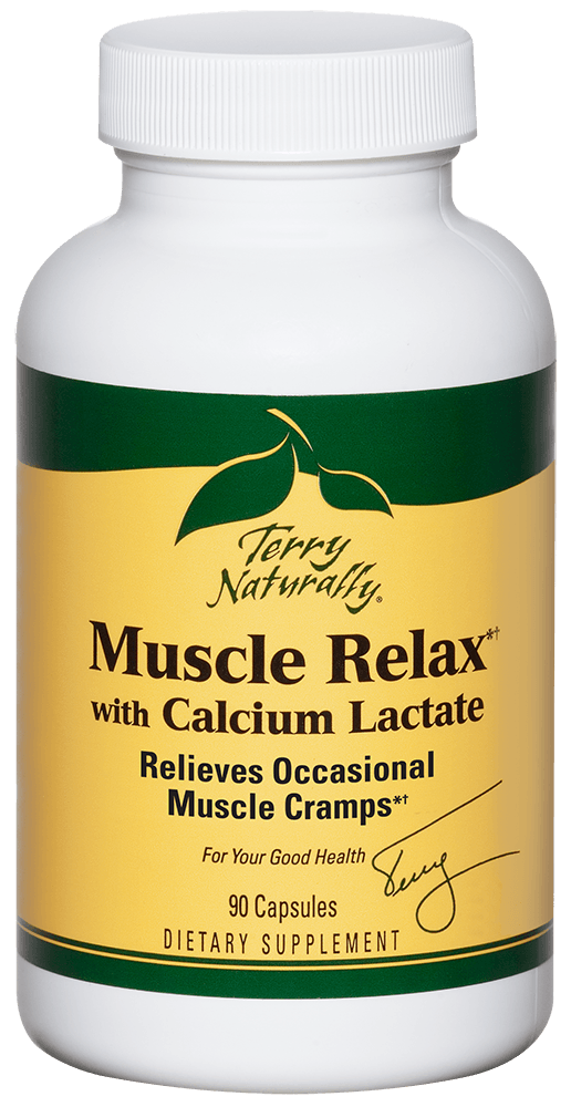 Muscle Relax with Calcium Lactate*†