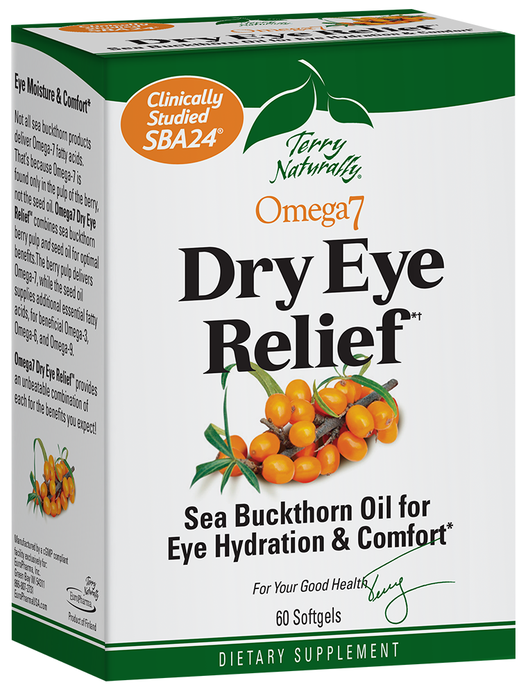 Omega7® Dry Eye Relief*†