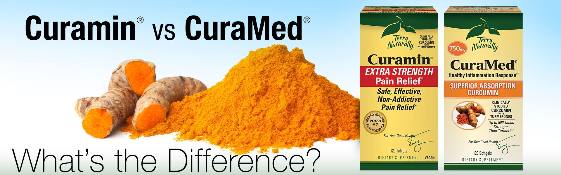 Curamin® vs CuraMed®