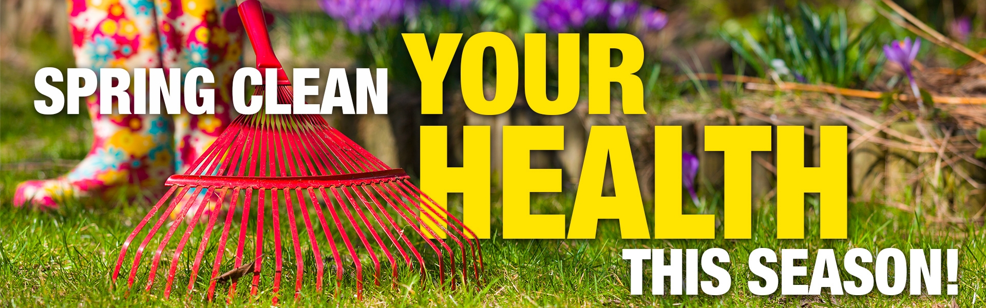 Spring Clean Your Health This Season!