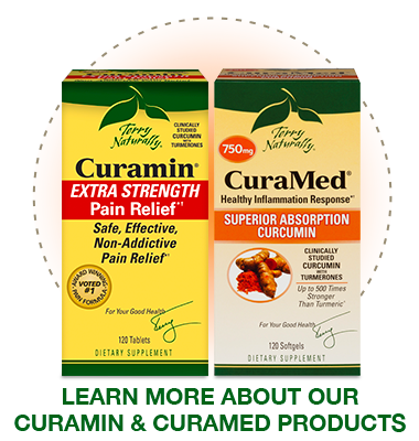 Learn more about Curamin® and CuraMed®