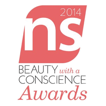 Beauty with a Conscience Award 2014 from Natural Solutions Magazine