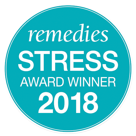 Remedies Magazine Best Stress Relief award