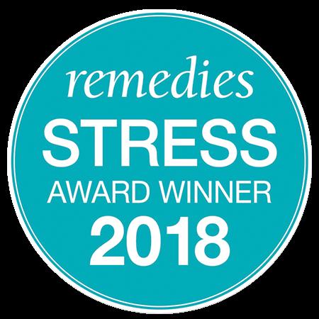 Remedies Magazine Best Stress Relief award