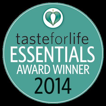 Taste for Life 2014 Essentials Award Winner