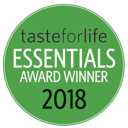Taste For Life 2018 Back-to-School Essentials Award