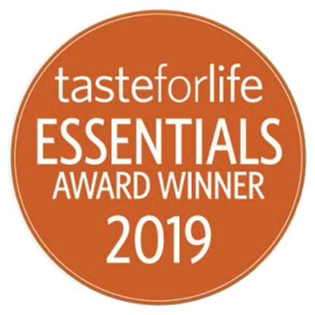 Taste for Life 2019 Essentials Award logo