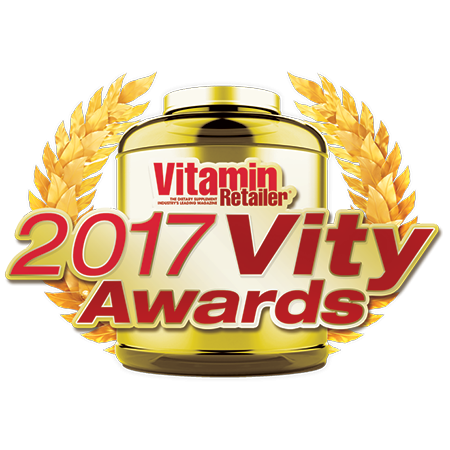 2017 Vity Awards Winner • Vitamin Retailer