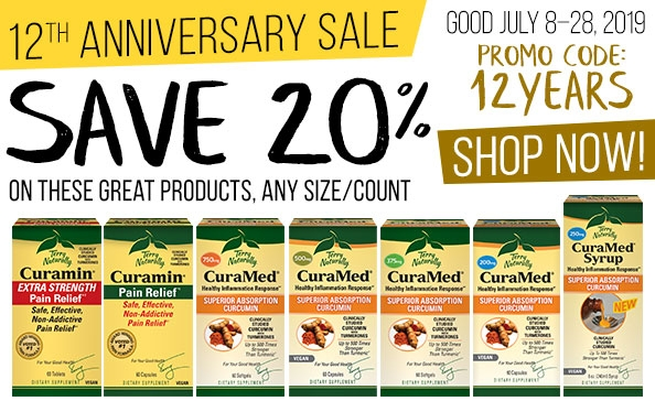 12th Anniversary Sale