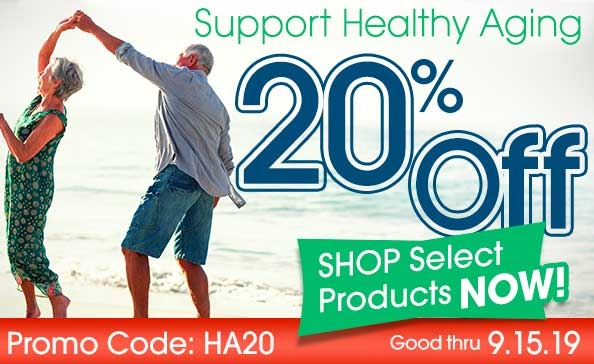 20% Off Select Products to Support Health Aging