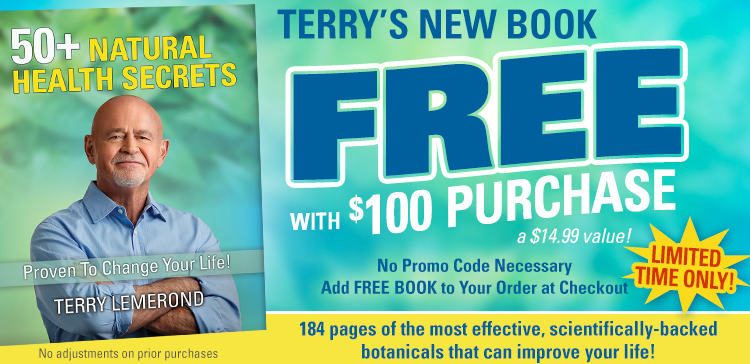 Terry's New Book—FREE with $100 purchase