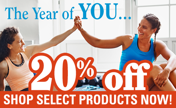 The Year of YOU! 20% off Select Products