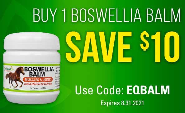 BUY 1 BOSWELLIA BALM SAVE $10 • Use Code: EQBALM