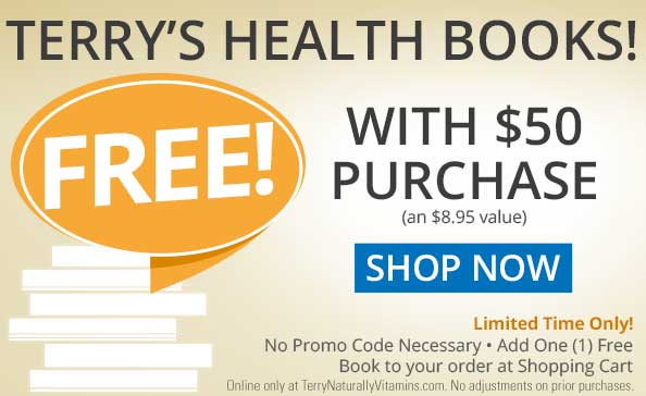 SHOP NOW • Terry's Health Books! FREE With $50 Purchase