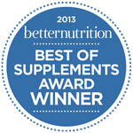 Best of Supplements Award Winner—2013 Better Nutrition