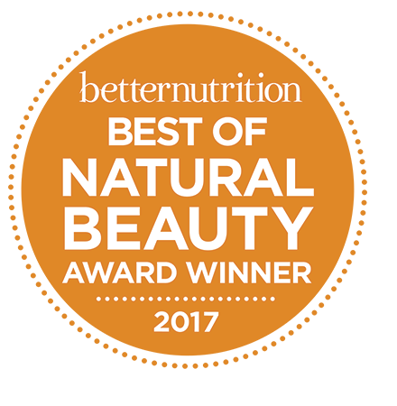 Better Nutrition BEST OF NATURAL BEAUTY Award Winner 2017