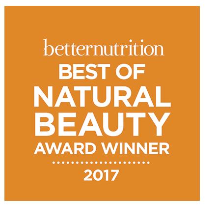 Better Nutrition BEST OF NATURAL BEAUTY Award Winner 2017