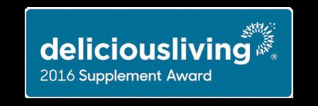 2016 Delicious Living Award