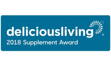 2018 Delicious Living Award