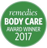 Remedies Magazine • BODY CARE 2017 AWARD WINNER