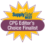 2017 Supply Side West CPG Editor's Choice Finalist