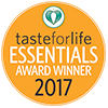 Taste For Life 2017 Essentials Award Winner