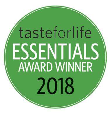 Taste for Life 2018 winner