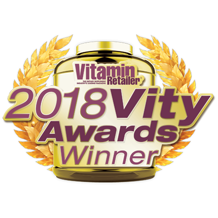 VITAMIN RETAILER 2018 Award Winner Specialty & Herbal Supplement Category • Herbal Supplement