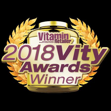 VITAMIN RETAILER 2018 Award Winner Specialty & Herbal Supplement Category • Herbal Supplement