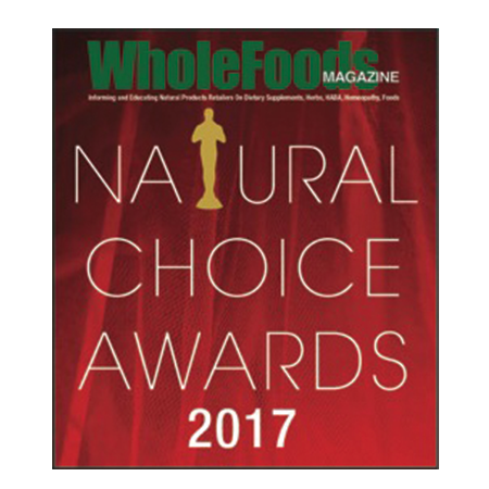 2017 Natural Choice Award • WholeFoods Magazine