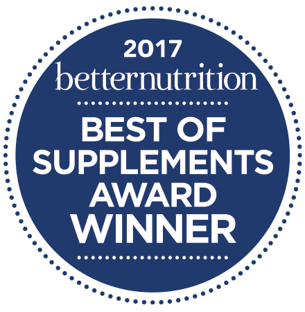 2017 Better Nutrition Best of Supplements Award