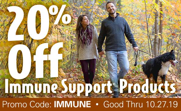 20% off Immune Products