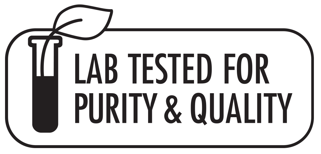 Lab Tested for Purity & Quality