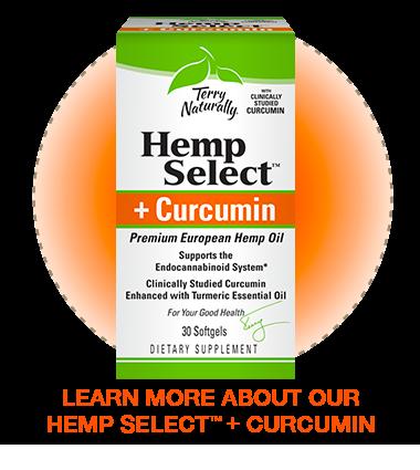 Hemp Select™ + Curcumin