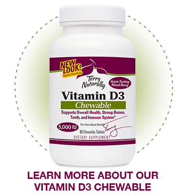 Learn more about Vitamin D3 Chewables