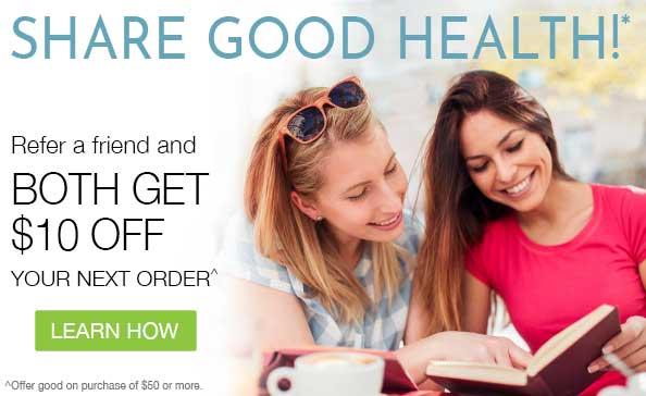 Share Good Health* | Earn $10 Coupon