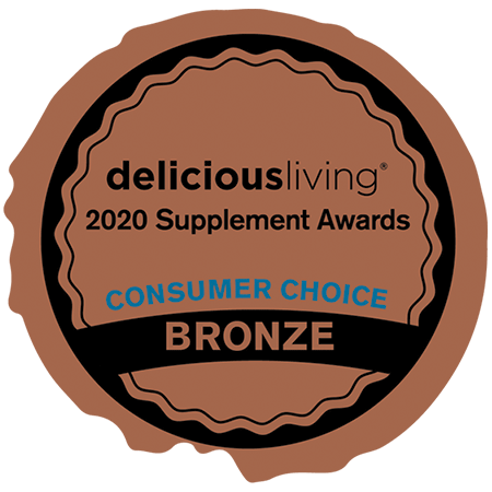 Delicious Living Magazine • Consumer Award Bronze: Bone & Joint