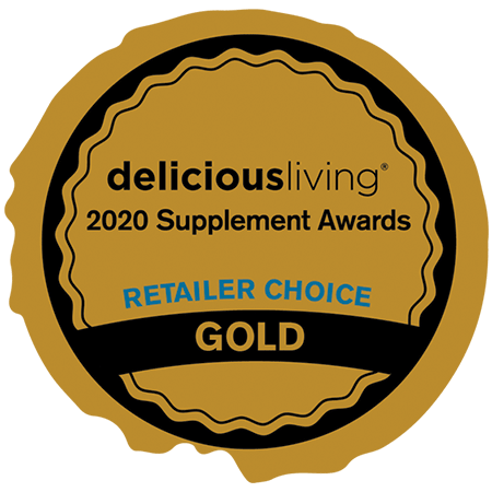 Delicious Living Magazine • Retailer Award Gold: Immunity Product