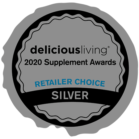 Delicious Living Magazine • Retailer Award Silver: Best New Product