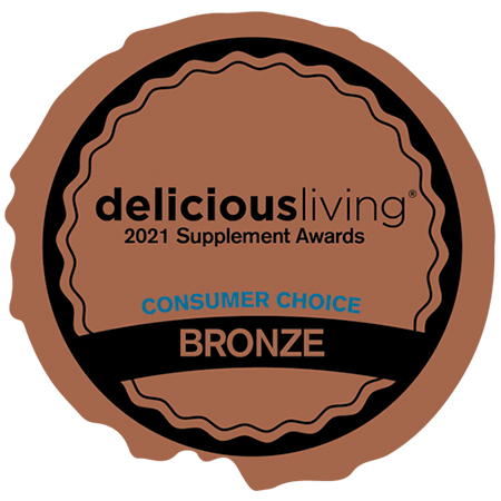Delicious Living Magazine • Consumer Award Bronze: Healthy Aging