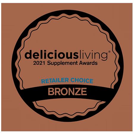 Delicious Living Magazine • Retailer Award Bronze: Men's Health