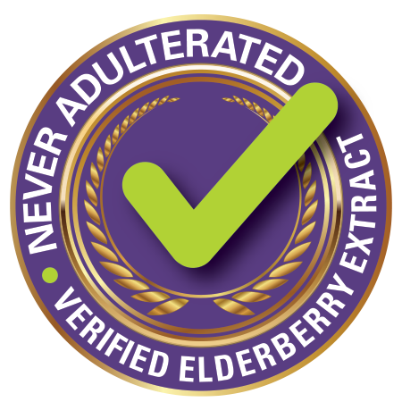 NEVER ADULTERATED—Verified Elderberry Extract